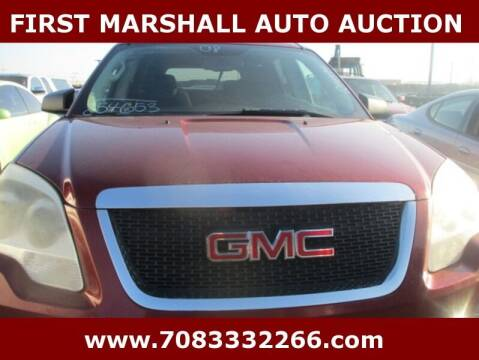 2008 GMC Acadia for sale at First Marshall Auto Auction in Harvey IL