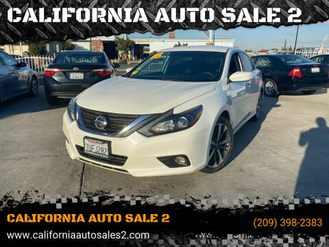 2016 Nissan Altima for sale at CALIFORNIA AUTO SALE 2 in Livingston CA