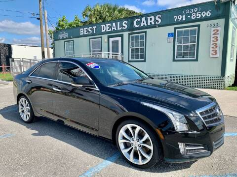 2013 Cadillac ATS for sale at Best Deals Cars Inc in Fort Myers FL