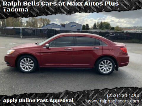 2014 Chrysler 200 for sale at Ralph Sells Cars at Maxx Autos Plus Tacoma in Tacoma WA
