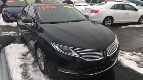 2015 Lincoln MKZ for sale at BELOW BOOK AUTO SALES in Idaho Falls ID