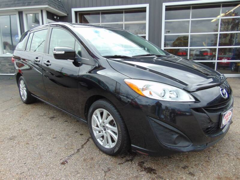 2015 Mazda MAZDA5 for sale at Akron Auto Sales in Akron OH