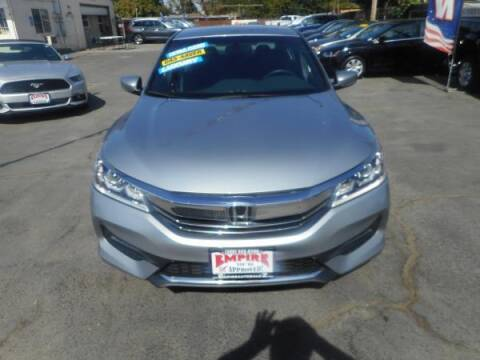 2016 Honda Accord for sale at Empire Auto Sales in Modesto CA