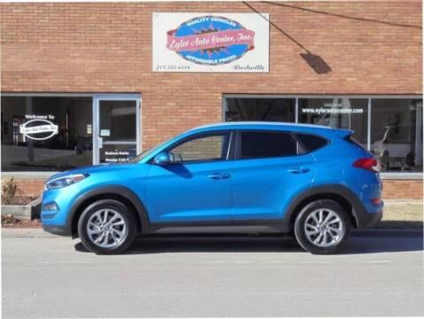 2016 Hyundai Tucson for sale at Eyler Auto Center Inc. in Rushville IL