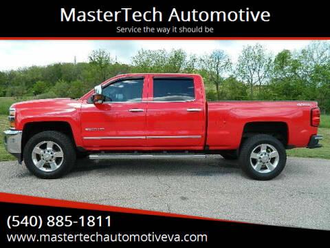 2016 Chevrolet Silverado 2500HD for sale at MasterTech Automotive in Staunton VA