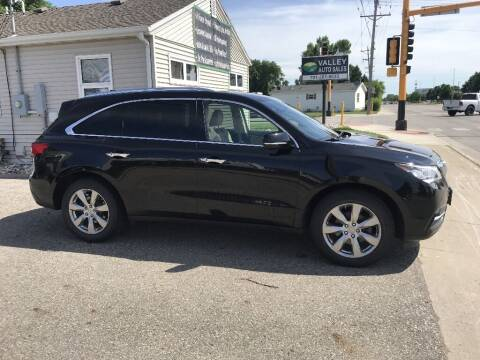 2016 Acura MDX for sale at Valley Auto Sales in Fargo ND