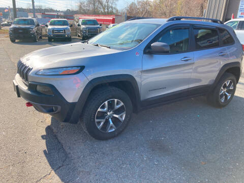 2017 Jeep Cherokee for sale at 222 Newbury Motors in Peabody MA