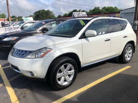 2006 Nissan Murano for sale at Affordable Autos at the Lake in Denver NC