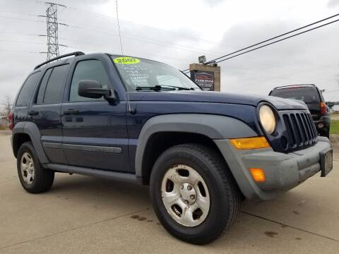 2007 Jeep Liberty for sale at CarNation Auto Group in Alliance OH