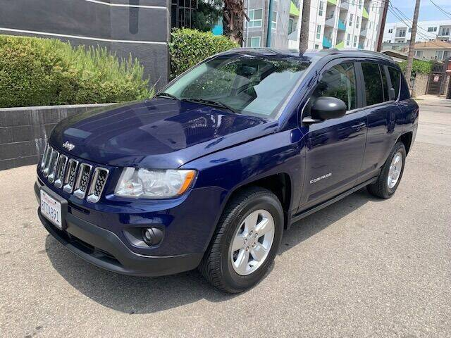 2013 Jeep Compass for sale at FJ Auto Sales North Hollywood in North Hollywood CA
