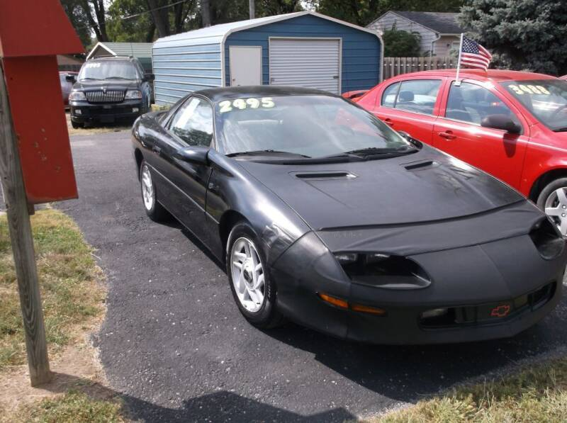 1996 Chevrolet Camaro for sale at Straight Line Motors LLC in Fort Wayne IN