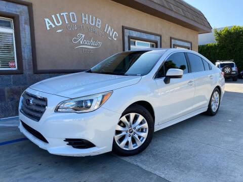 2015 Subaru Legacy for sale at Auto Hub, Inc. in Anaheim CA