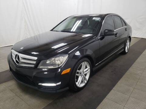 2013 Mercedes-Benz C-Class for sale at NORTH CHICAGO MOTORS INC in North Chicago IL