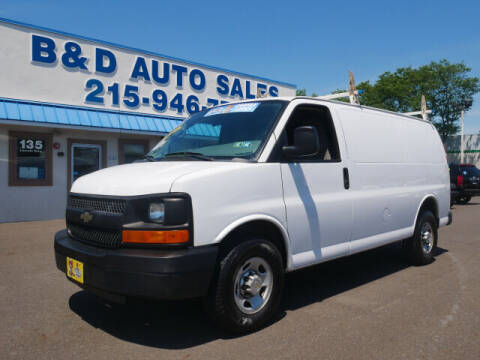 2012 Chevrolet Express Cargo for sale at B & D Auto Sales Inc. in Fairless Hills PA