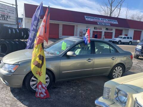 2010 Hyundai Sonata for sale at Advantage Auto Sales in Johnstown PA
