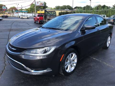 2015 Chrysler 200 for sale at IMPALA MOTORS in Memphis TN