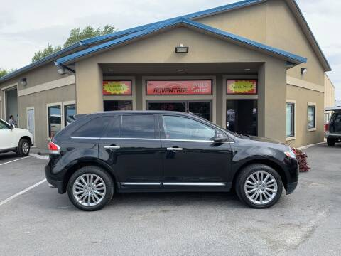 2013 Lincoln MKX for sale at Advantage Auto Sales in Garden City ID