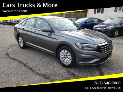 2019 Volkswagen Jetta for sale at Cars Trucks & More in Howell MI