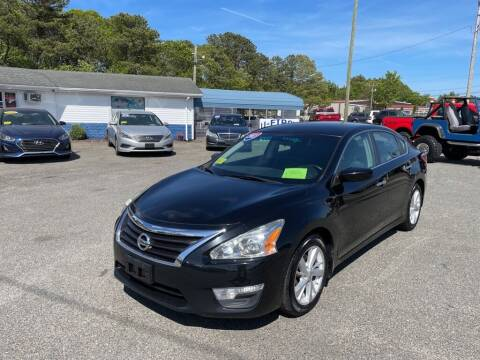 2013 Nissan Altima for sale at U FIRST AUTO SALES LLC in East Wareham MA