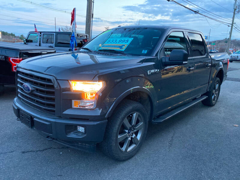 2016 Ford F-150 for sale at 222 Newbury Motors in Peabody MA