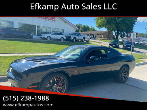 2016 Dodge Challenger for sale at Efkamp Auto Sales LLC in Des Moines IA
