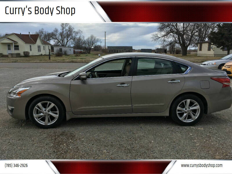 2013 Nissan Altima for sale at Curry's Body Shop in Osborne KS