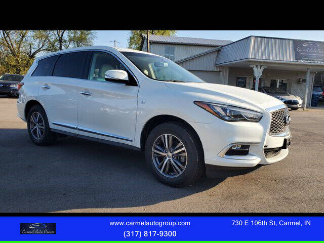 2016 Infiniti QX60 for sale at Carmel Auto Group in Indianapolis IN