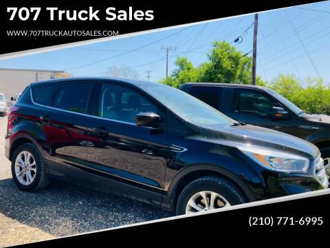 2017 Ford Escape for sale at 707 Truck Sales in San Antonio TX