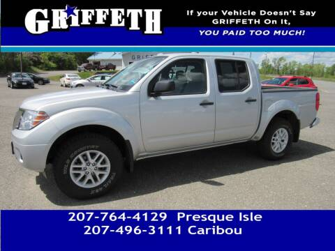 2018 Nissan Frontier for sale at Griffeth Mitsubishi - Pre-owned in Caribou ME