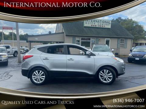 2012 Hyundai Tucson for sale at International Motor Co. in Saint Charles MO