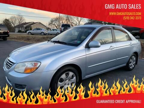 2008 Kia Spectra for sale at GMG AUTO SALES in Scranton PA