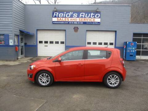 2012 Chevrolet Sonic for sale at Reid's Auto Sales & Service in Emporium PA