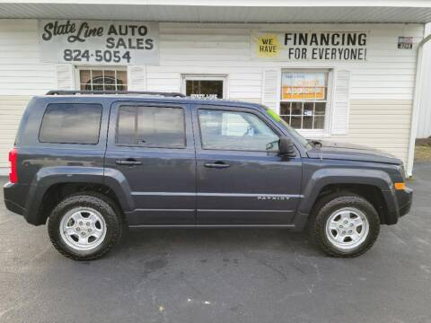 2014 Jeep Patriot for sale at STATE LINE AUTO SALES in New Church VA