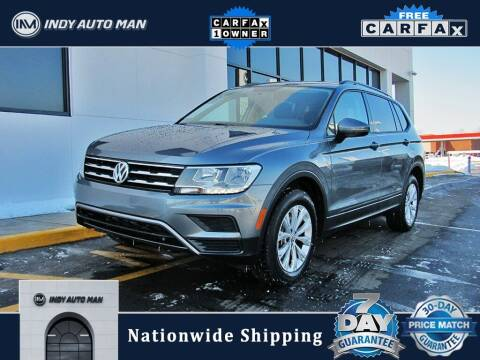 2018 Volkswagen Tiguan for sale at INDY AUTO MAN in Indianapolis IN