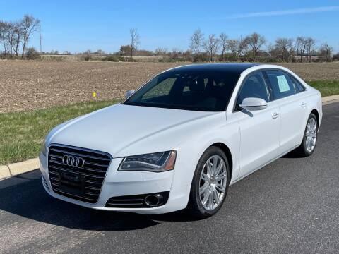 2014 Audi A8 L for sale at Geneva Motorcars LLC in Delavan WI