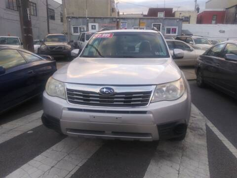 2009 Subaru Forester for sale at K J AUTO SALES in Philadelphia PA