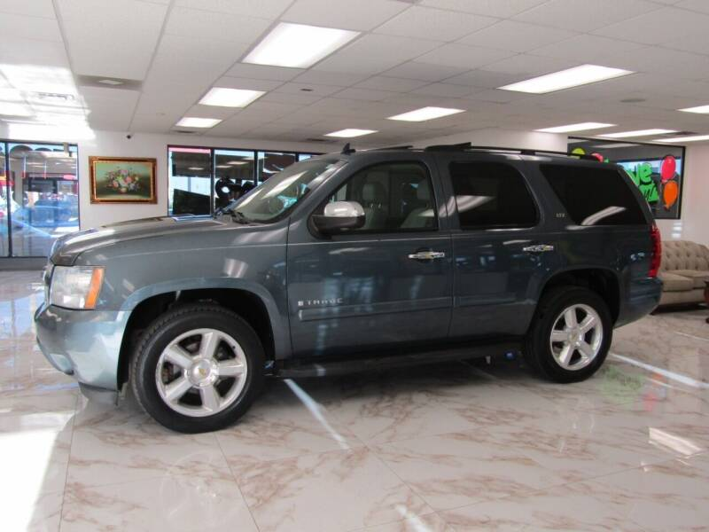2008 Chevrolet Tahoe for sale at Dealer One Auto Credit in Oklahoma City OK