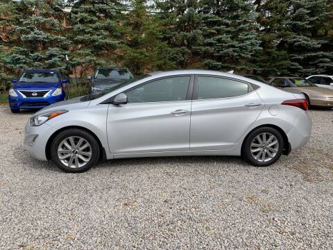 2015 Hyundai Elantra for sale at Renaissance Auto Network in Warrensville Heights OH