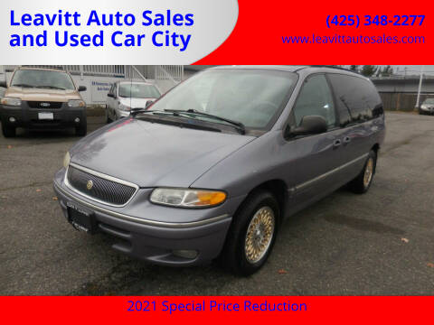 1997 Chrysler Town and Country for sale at Leavitt Auto Sales and Used Car City in Everett WA