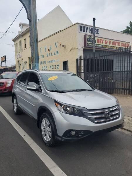 2012 Honda CR-V for sale at Key and V Auto Sales in Philadelphia PA
