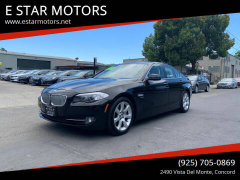 2011 BMW 5 Series for sale at E STAR MOTORS in Concord CA