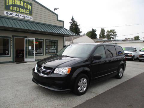 2012 Dodge Grand Caravan for sale at Emerald City Auto Inc in Seattle WA