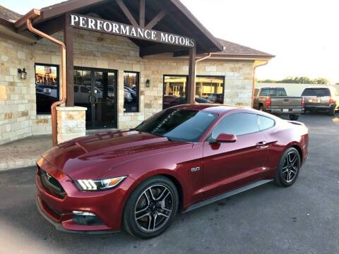 2016 Ford Mustang for sale at Performance Motors Killeen Second Chance in Killeen TX