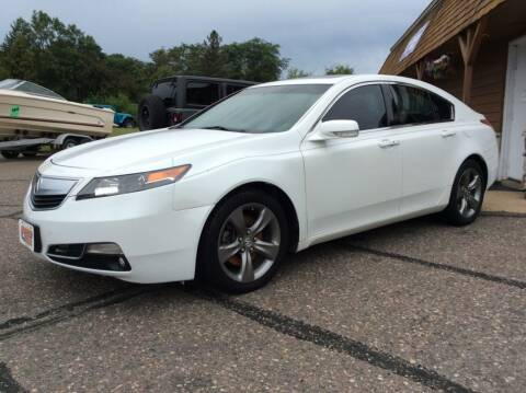 2014 Acura TL for sale at MOTORS N MORE in Brainerd MN