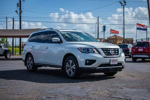2019 Nissan Pathfinder for sale at Jerrys Auto Sales in San Benito TX