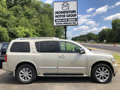 2008 Infiniti QX56 for sale at Momentum Motor Group in Lancaster SC