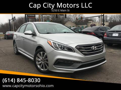 2017 Hyundai Sonata for sale at Cap City Motors LLC in Columbus OH