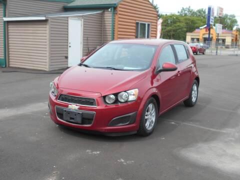 2012 Chevrolet Sonic for sale at MT MORRIS AUTO SALES INC in Mount Morris MI