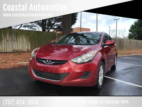 2013 Hyundai Elantra for sale at Coastal Automotive in Virginia Beach VA