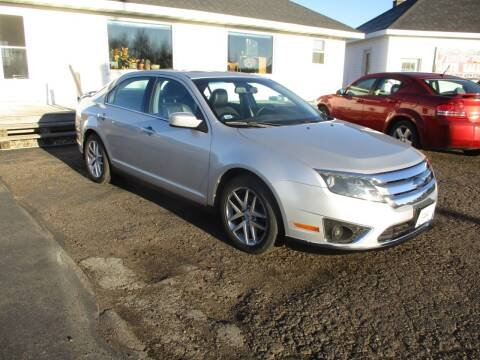 2010 Ford Fusion for sale at KAISER AUTO SALES in Spencer WI